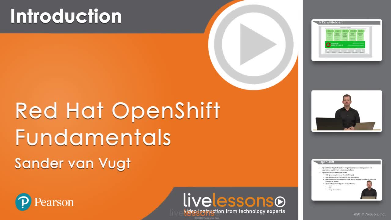Red Hat OpenShift Fundamentals LiveLessons