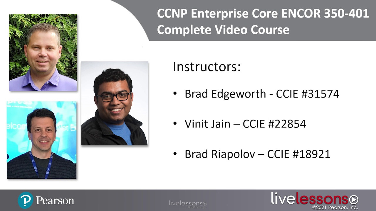 CCNP and CCIE Enterprise Core ENCOR 350-401 Complete Video Course