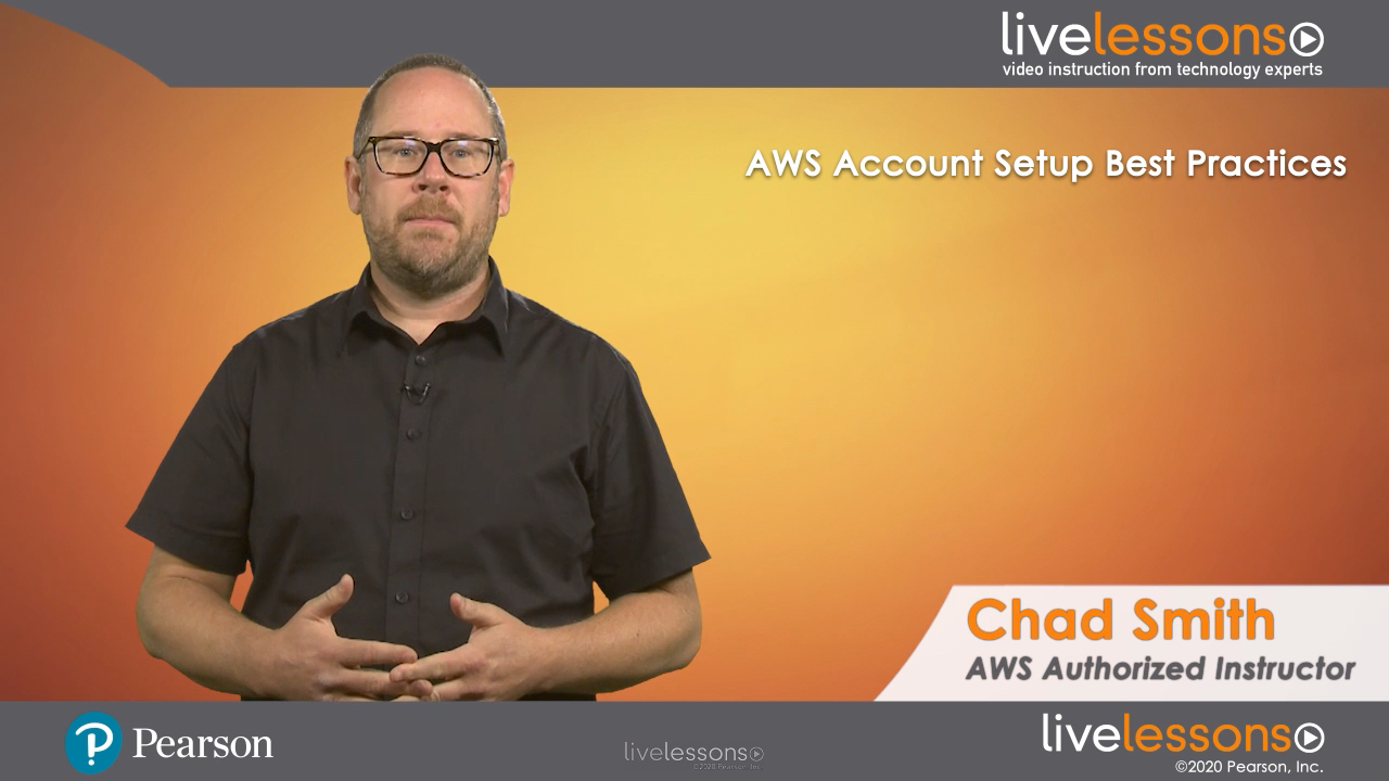 AWS Account Setup Best Practices LiveLessons (Video Training)