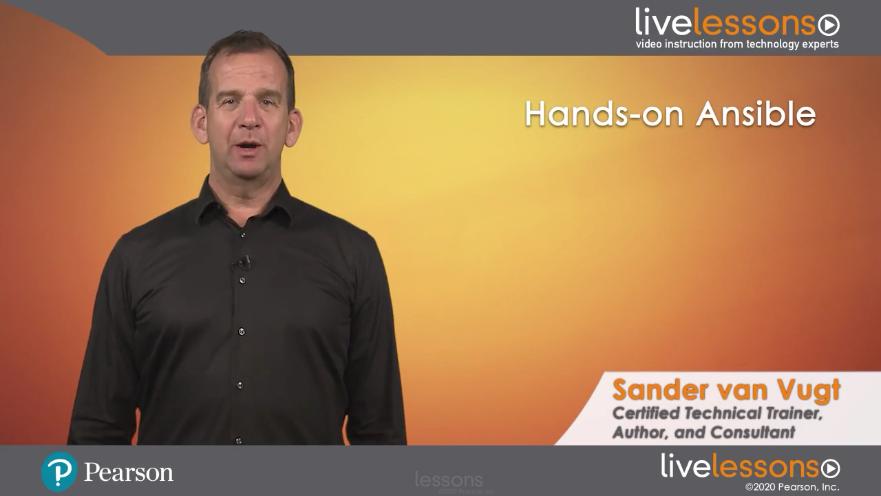 Hands-on Ansible LiveLessons (Video Training)