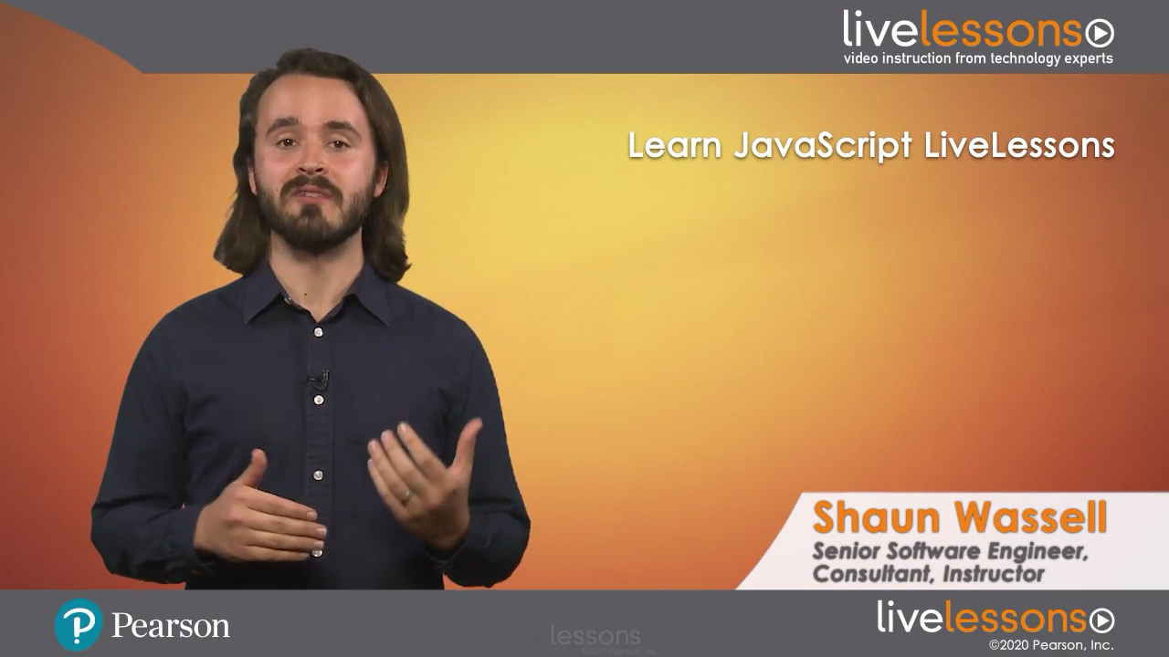 Learn JavaScript LiveLessons (Video Training)