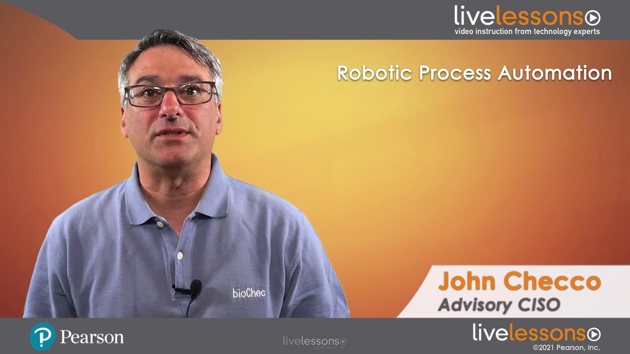 Robotic Process Automation LiveLessons (Video Training)