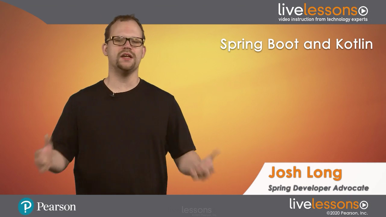 Spring Boot and Kotlin LiveLessons (Video Training)