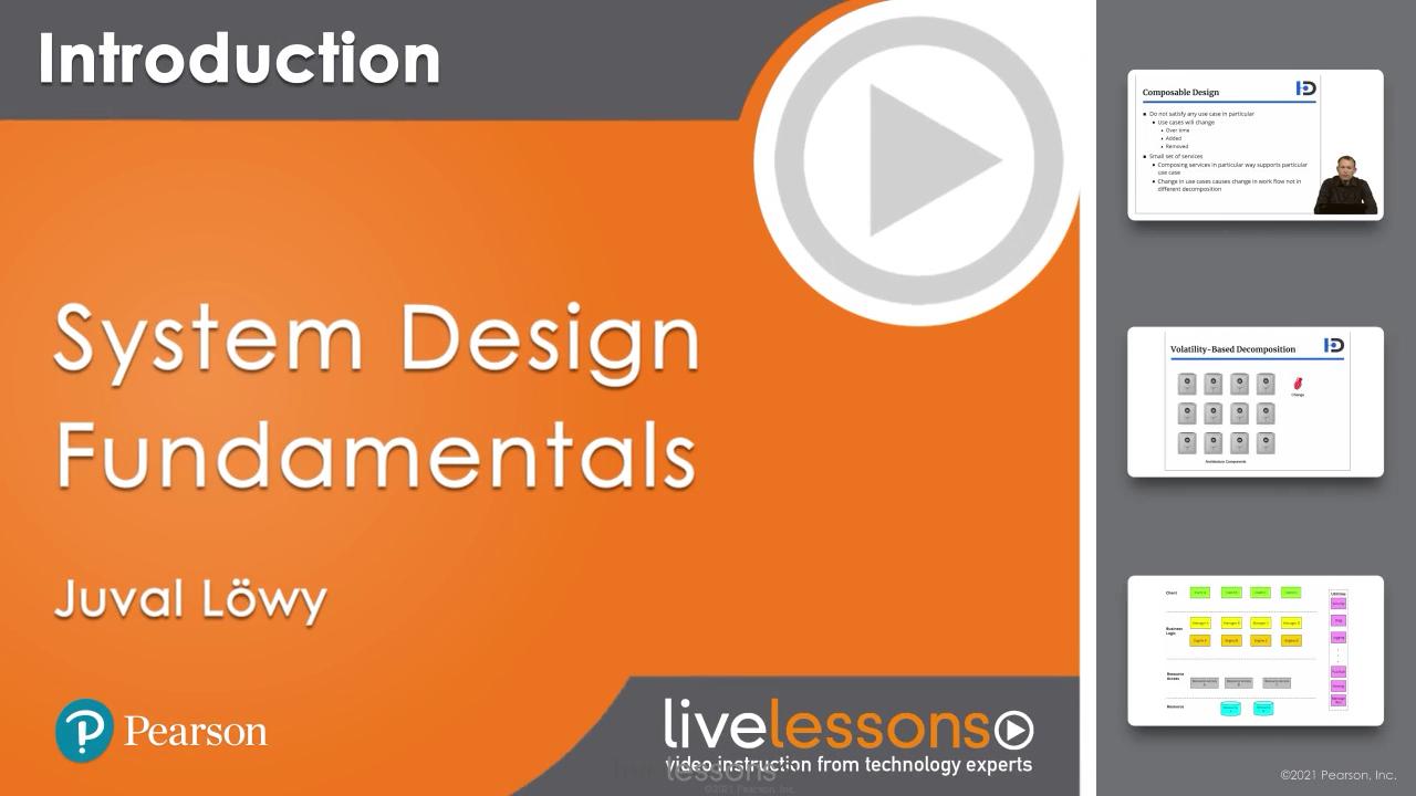 System Design Fundamentals LiveLesson (Video Training)