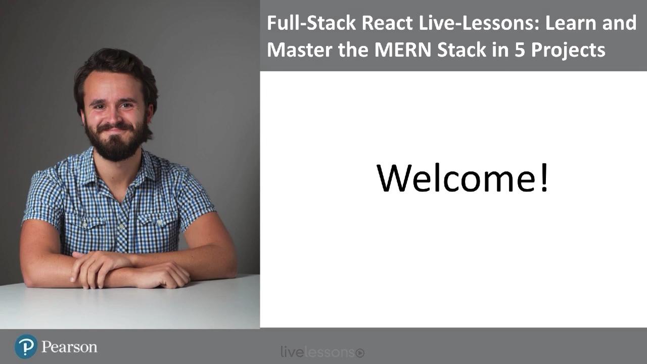 Full-Stack React LiveLessons (Video Training)