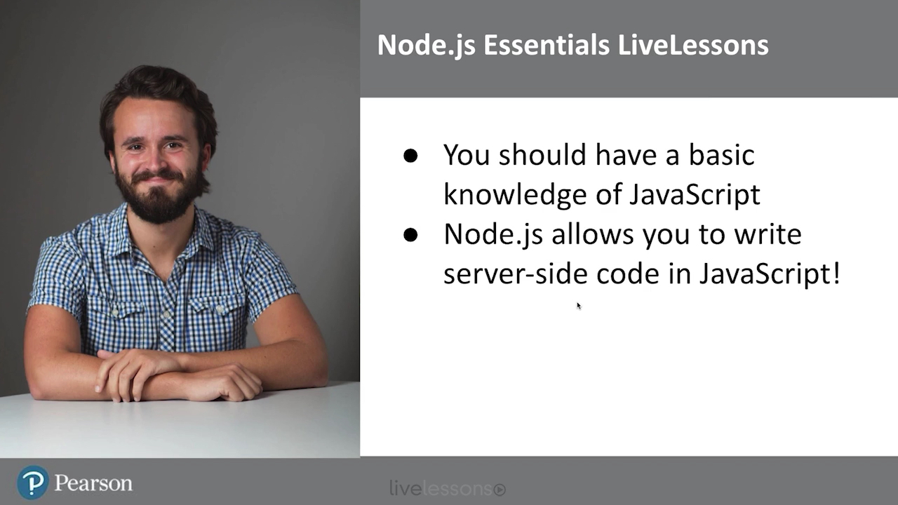 Node.js Essentials LiveLessons (Video Training)