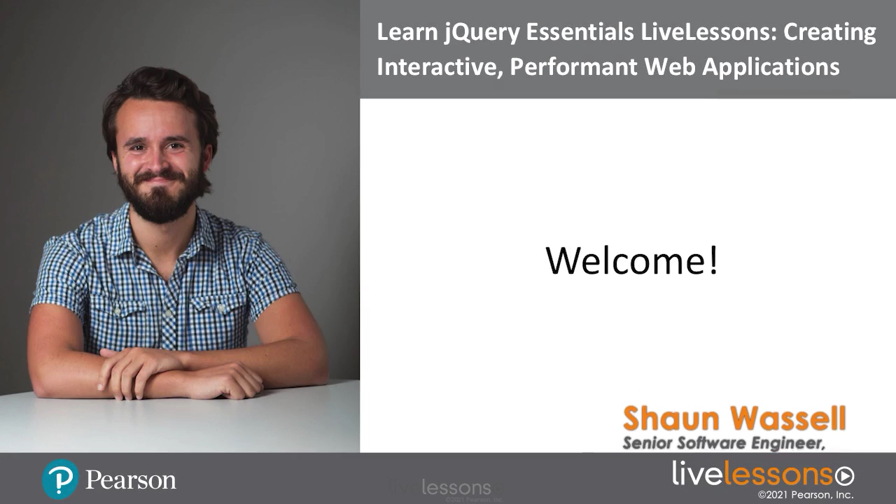 Learn jQuery Essentials LiveLessons (Video Training)