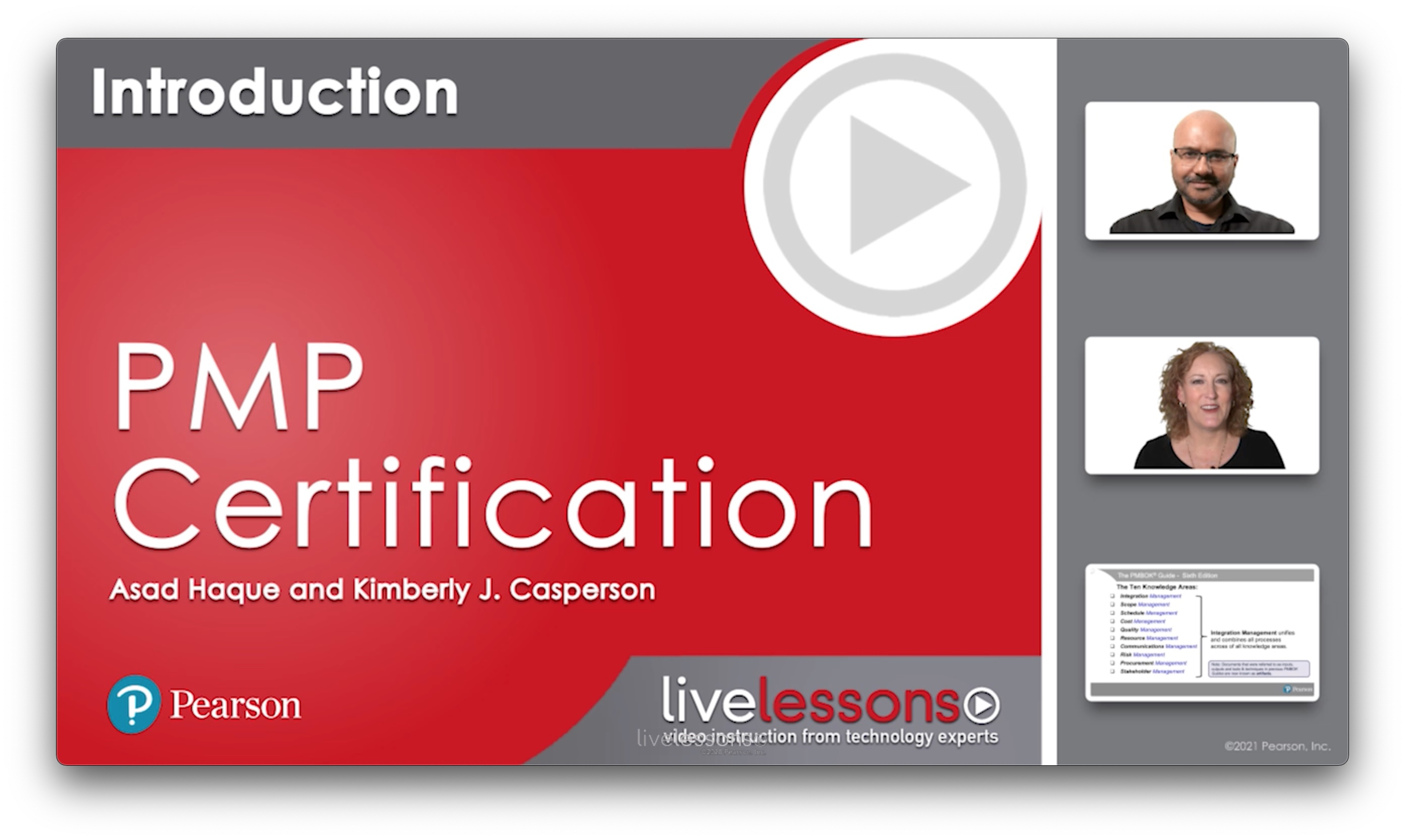 PMP Certification Complete Video Course and Practice Test