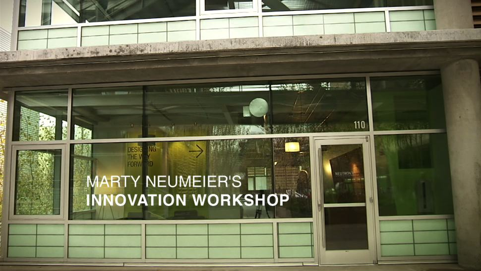 Marty Neumeier's INNOVATION WORKSHOP: Brand Strategy + Design Thinking = Transformation (Online Streaming Video)