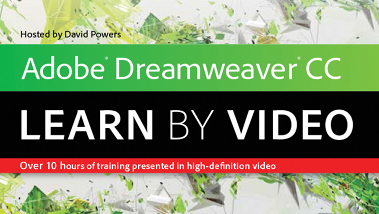 Adobe Dreamweaver CC: Learn by Video
