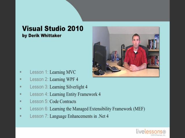 Visual Studio 2010 LiveLessons (Video Training)