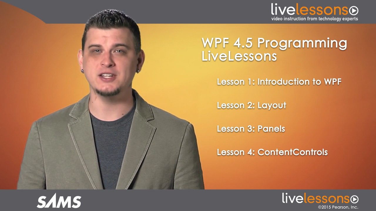 WPF 4.5 Programming LiveLessons (Video Training), Downloadable Video