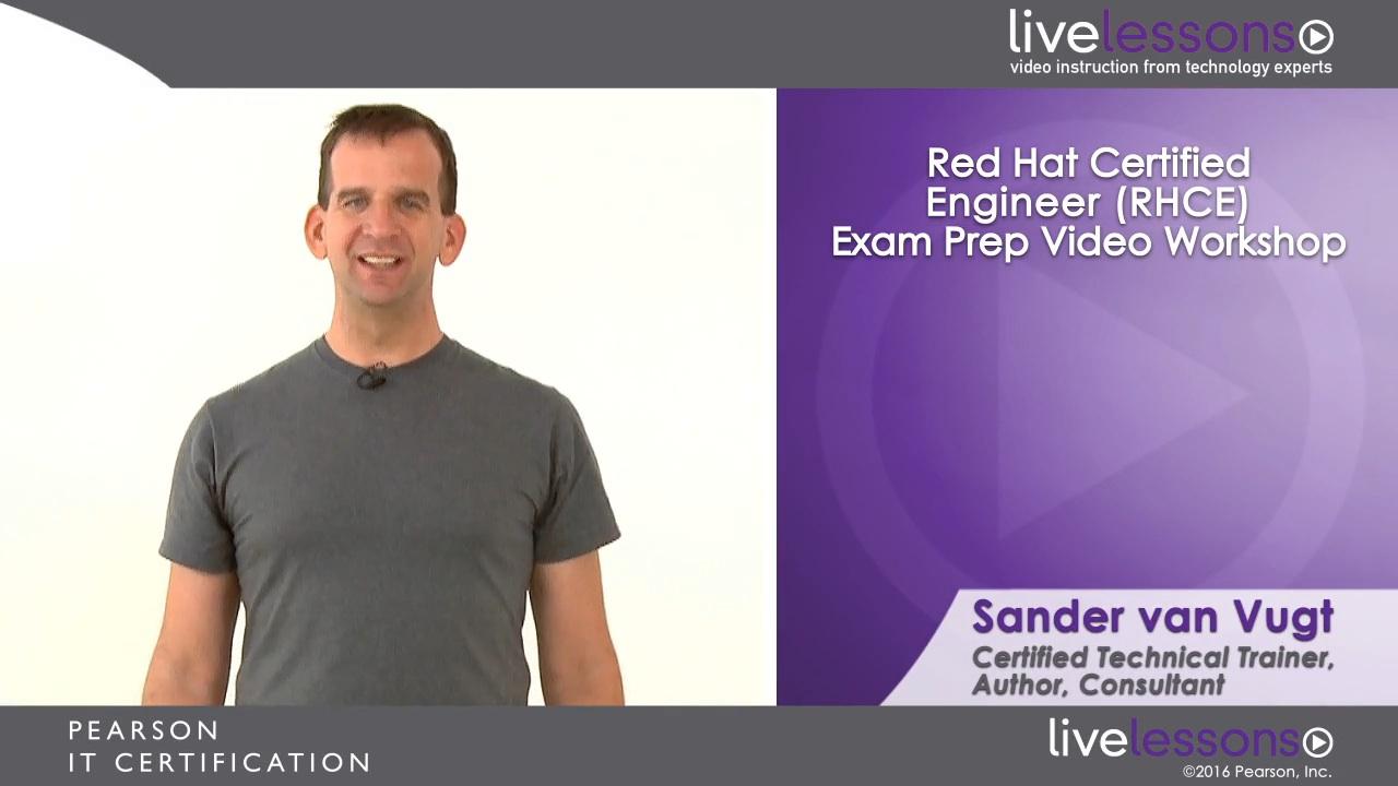 Red Hat Certified Engineer (RHCE) Exam Prep Video Workshop (Download)