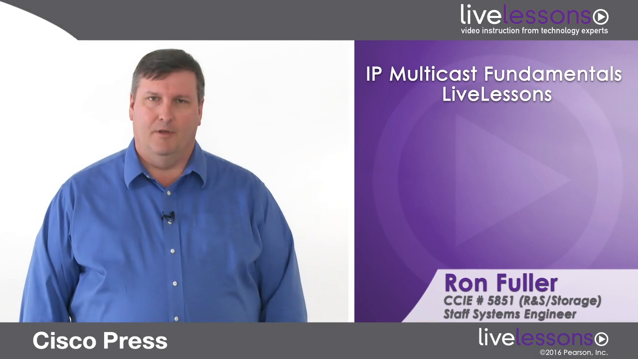 IP Multicast Fundamentals LiveLessons (Workshop)