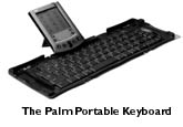 Palm keyboard