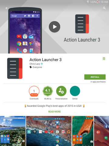 Applying a New Launcher on Your Samsung Galaxy Tab S2