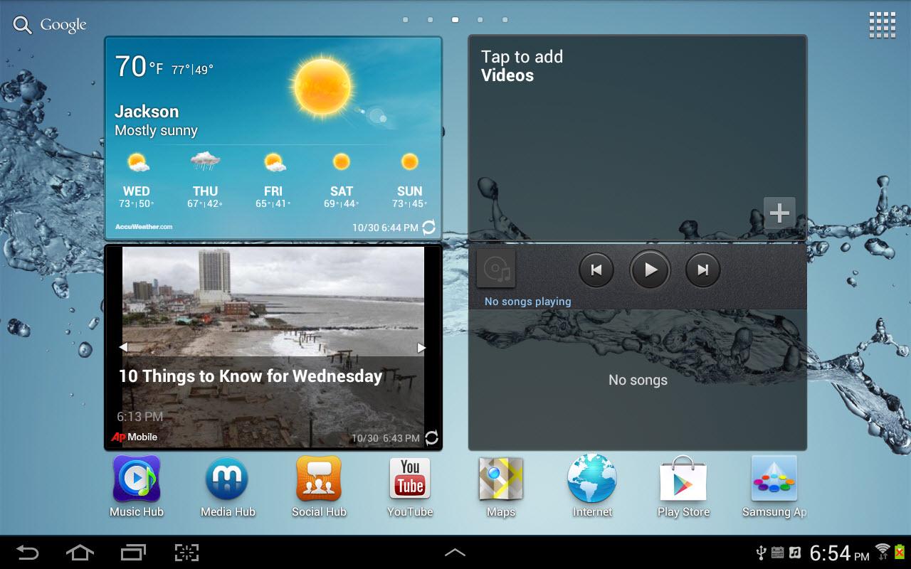 Android Hubs, Part 3: Using the Samsung Social Hub     InformIT