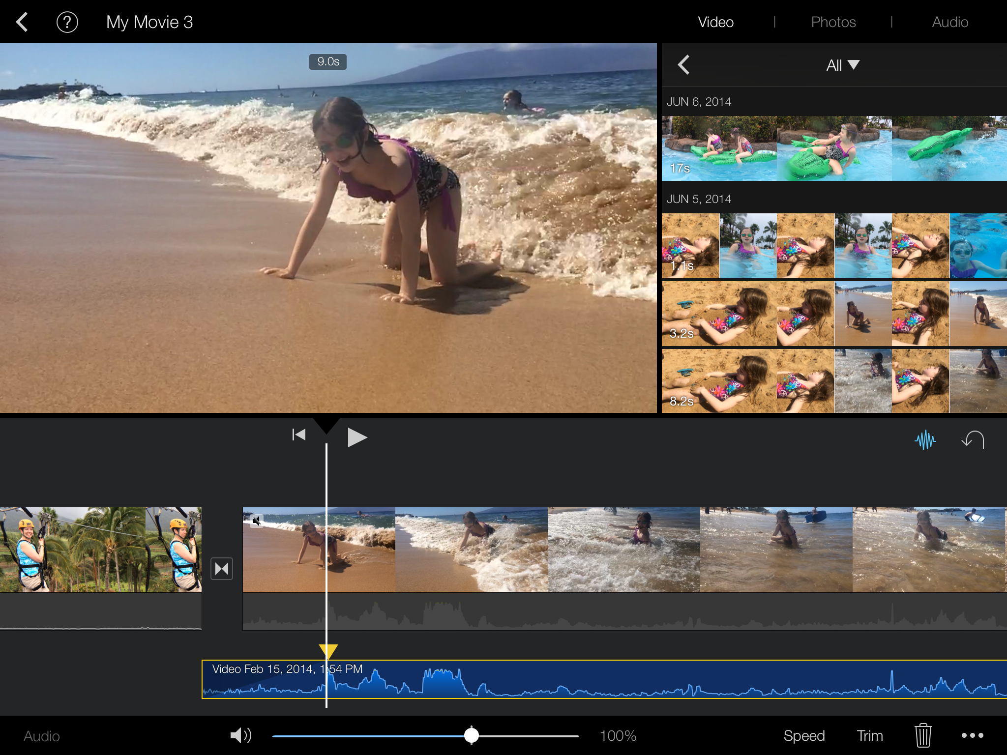 How to make a music video on imovie on iphone