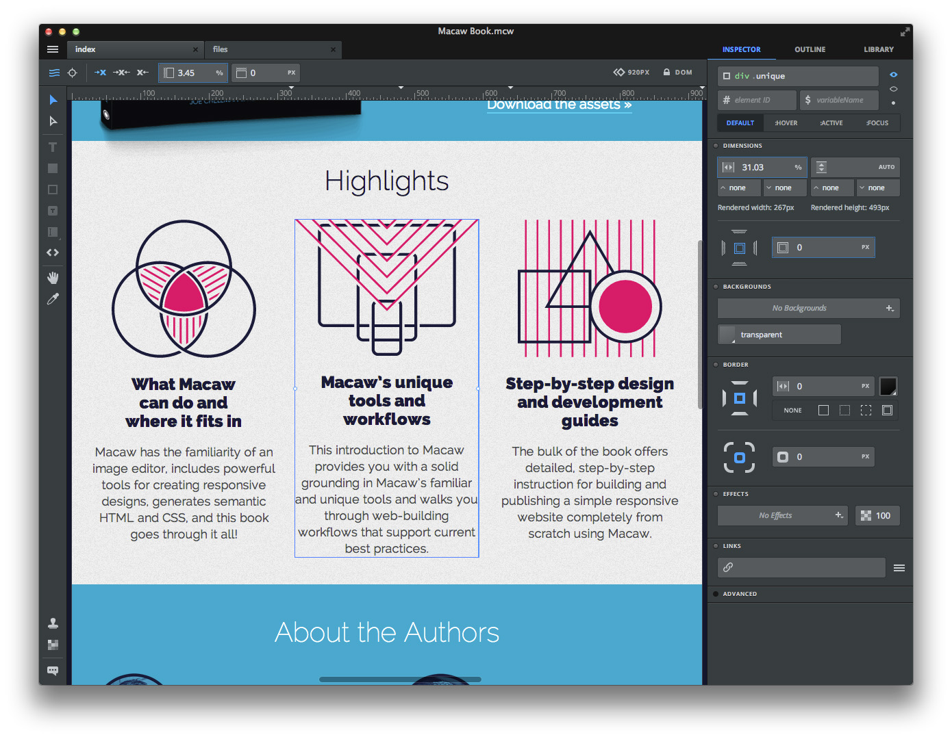 13 Nifty Things About Macaw: The New Application for Designing ...
