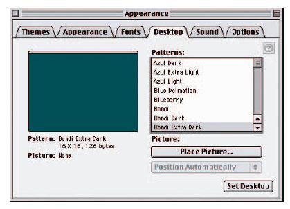 Desktop Patterns For Mac Pattern in Mac os 9