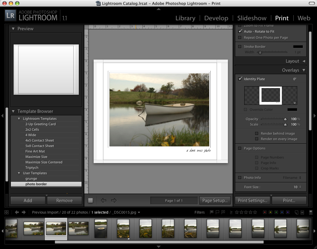 Border effects give lightroom its own identity peachpit ccuart Images
