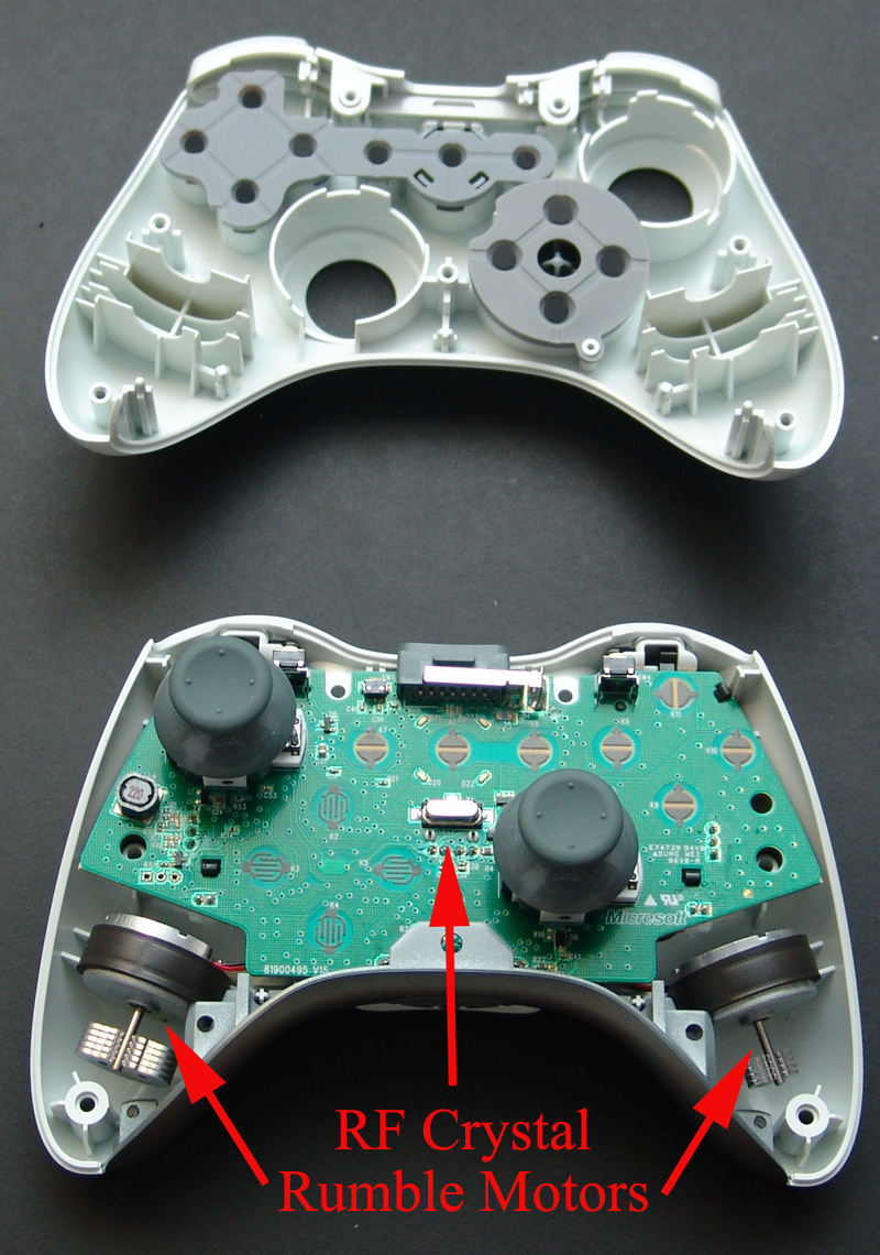 Taking Apart the Wireless Controller | Xbox 360 Exposed | InformIT