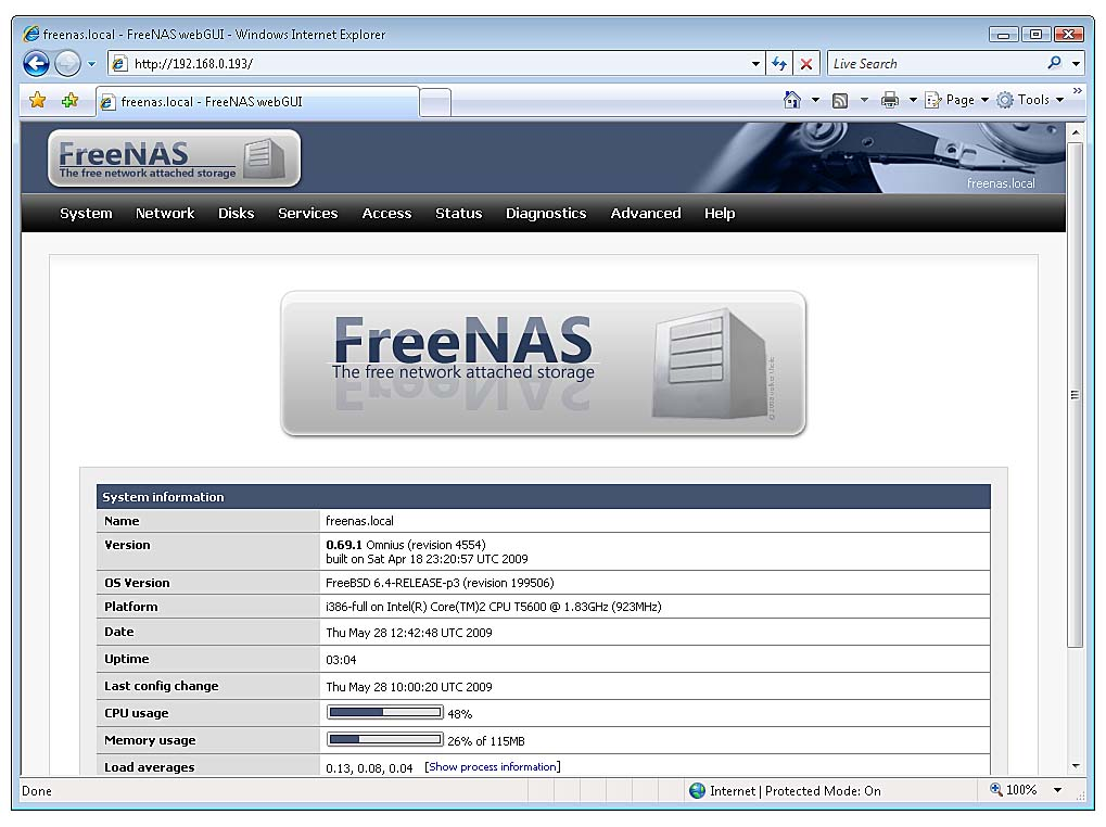 Setting Up FreeNAS for a Central File Server, Part 2