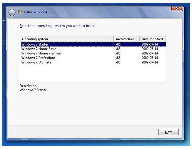 Seven Tips and Tricks for Windows 7  1 Pick a Different Windows 7  Edition During Install  InformIT