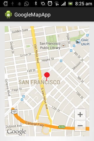 Accessing Google Maps in Android Apps     InformIT