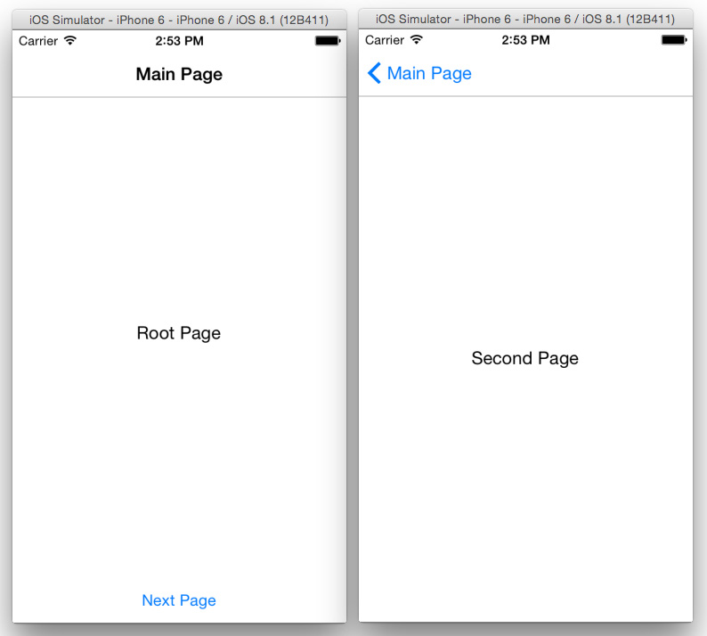 Types of Pages | Getting Started with Xamarin Forms | InformIT