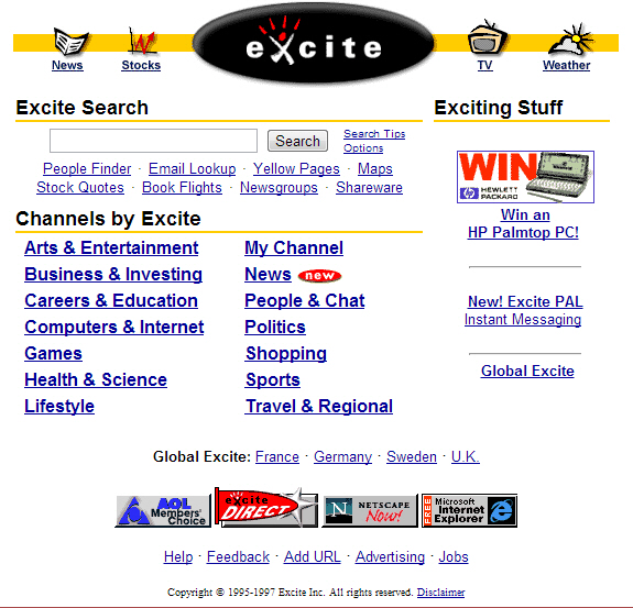 A Short History of Online Search | | InformIT