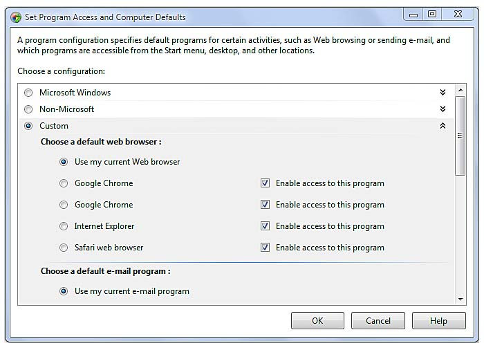 Customization #8: Change Windows 7's Default Programs | Top 10 Ways