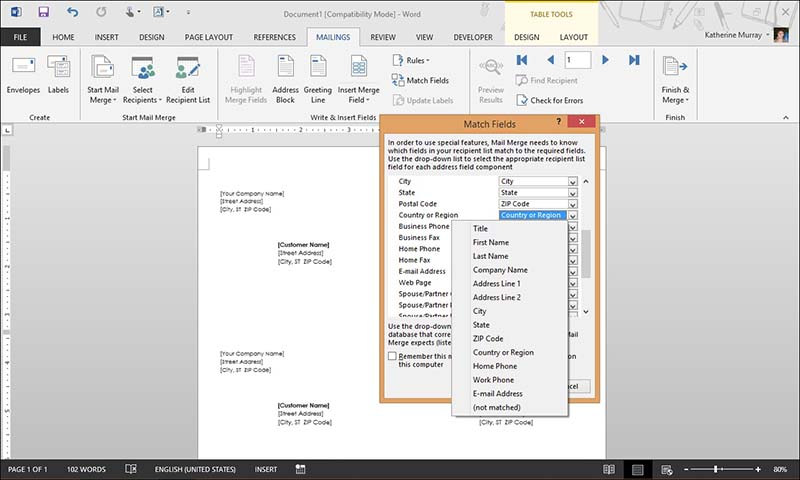 10 Mail Merge Tricks for Word 2013   #1: Don't Reinvent the