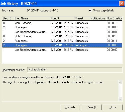 SQL Server Transactional Replication Agents | Snapshot Agent | InformIT