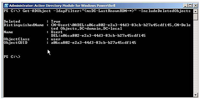 Introducing the Active Directory Module for Windows PowerShell internet tools