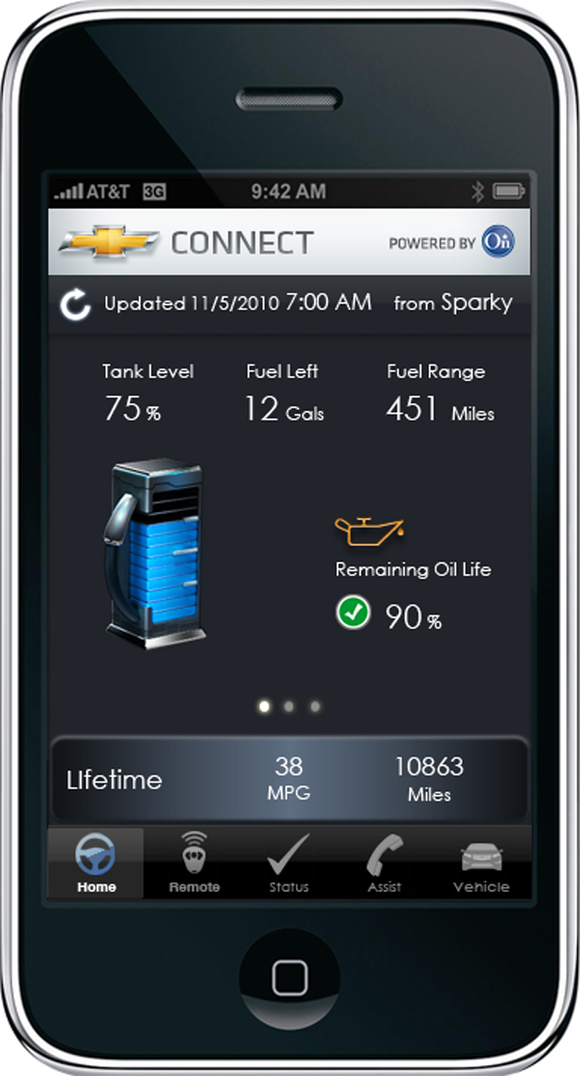 Remote Car Starter App >> Manage Your Vehicle Using Onstar And The Onstar Remotelink Iphone