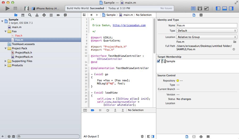 Xcode File Tricks | | InformIT