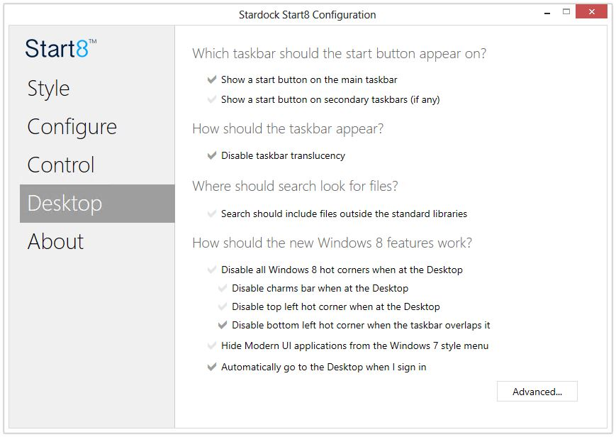 Bringing the Start Menu Back to Windows 8 | | InformIT