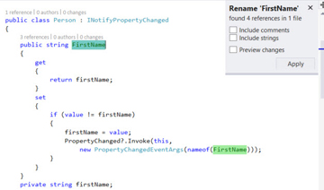 The New nameof Expressions in C# 6: Painless Conversion of