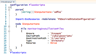 Working with the PowerShell Desired State Configuration, Part 2
