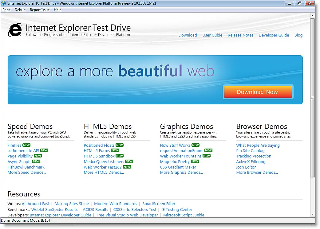 Microsoft Internet Explorer 10 Platform Preview: General Impressions ...