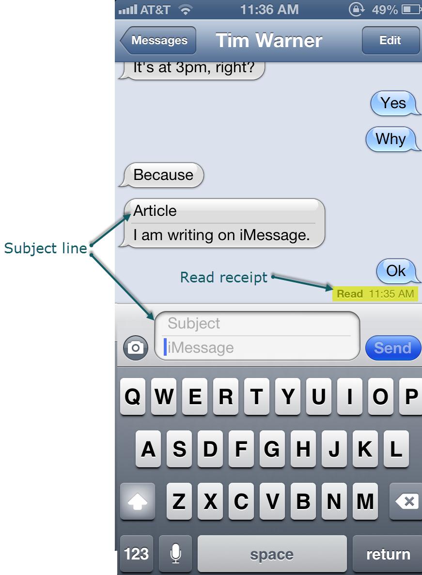 Apple iMessage: Top Five Tips | | InformIT