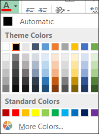 understanding theme colors understanding themes in microsoft