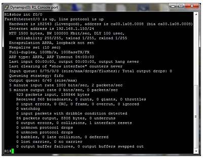 Network Verification Commands Review > Network Verification