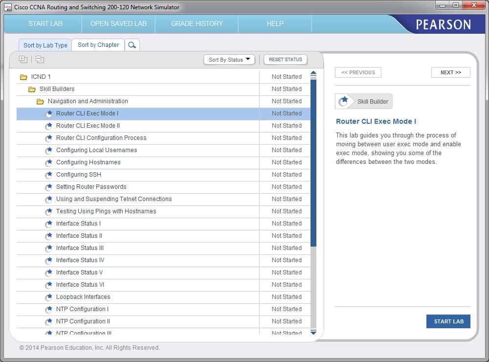 Using Pearsons Cisco Network Simulator Pearson It Certification