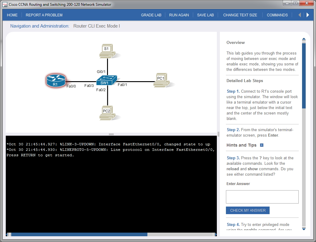 Using Pearsons Cisco Network Simulator Switch Symbols And