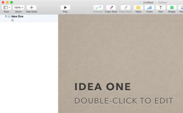 10 Tips for Getting the Most Out of Keynote | Tip 1: Use