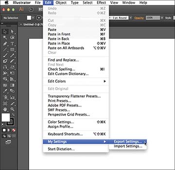 Export/Import Settings > Top 10 New Features in Adobe