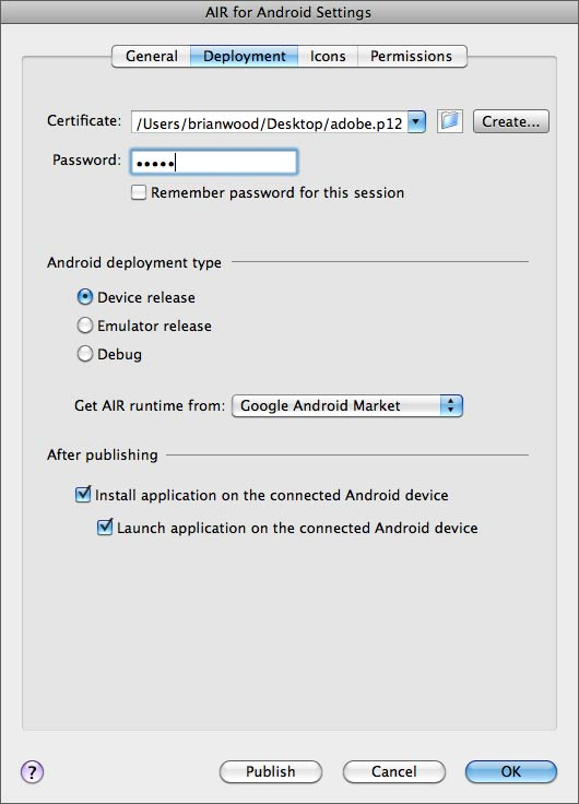 Debug on Device via USB | What's New and Improved in Adobe Flash CS5
