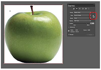 Editing The Tracing Options Working With Image Trace In Adobe